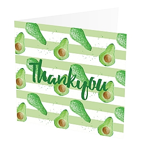 view Thank You Card Avocado details
