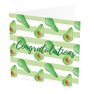 view Congratulations Card Avocado details
