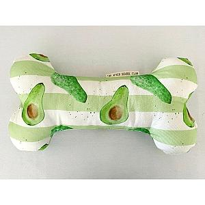 Avocado Stripe Bone