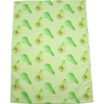 Avocado tea towel