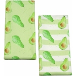 Avocado Stripe Tea Towel