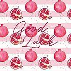 Good Luck Card Pomegranate