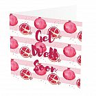 Get Well Soon Card Pomegranate
