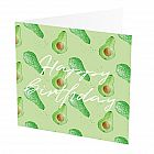 view Happy Birthday Card Avocado details
